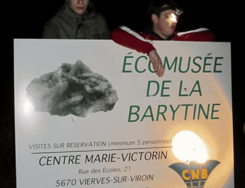 Visite de la mine de Barytine à Vierves-sur-Viroin