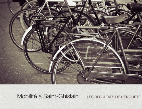 La mobilité à Saint-Ghislain : les résultats de l'enquête