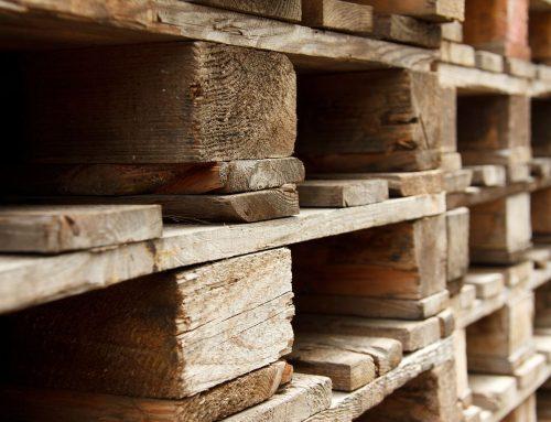 Réutilisation de palettes en bois
